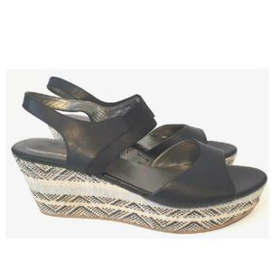 Me Too Cara Espadrille Wedge Sandals Shoes 8.5M